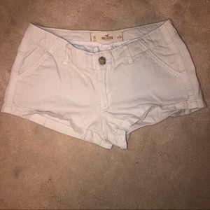 Hollister White Shorts!!!